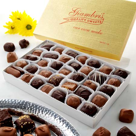 1lb. Deluxe Assorted Chocolates Milk & Dark