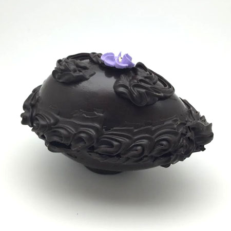 8 oz. Dark Chocolate Shell Egg