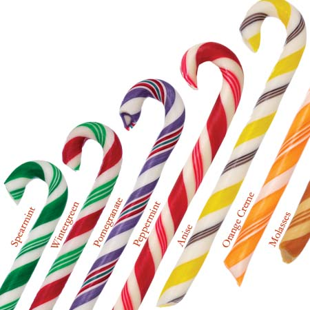 Assorted Candy Canes (1 Doz.)