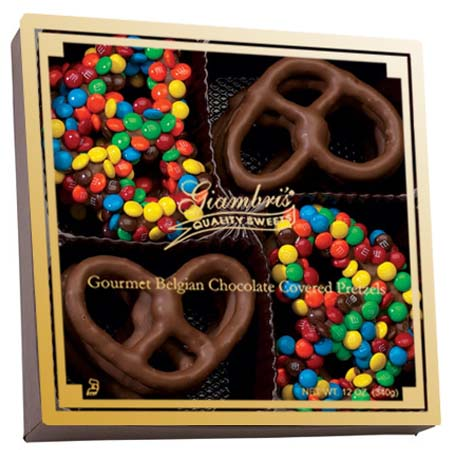 M&M Milk Chocolate Pretzel Gift Box