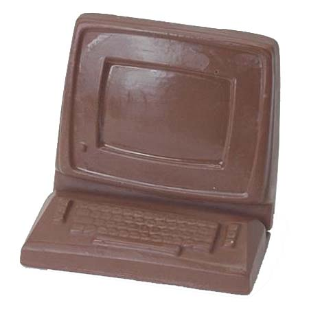 Computer Milk Chocolate (Solid) 6 oz.