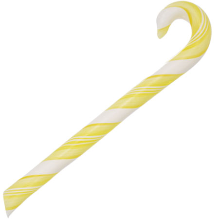 All Natural Lemon Candy Canes (1 Doz.)