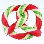 Wintergreen Candy Cane Pretzel