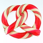 Peppermint Candy Cane Pretzel
