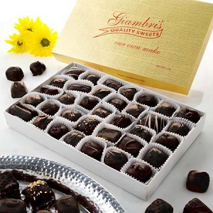 1lb. Deluxe Assorted Chocolates Dark