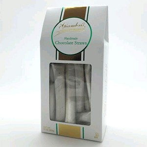 All Natural Gourmet Chocolate Straws