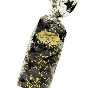 Sugar Free Dark Chocolate Covered Pretzels Gift Bag