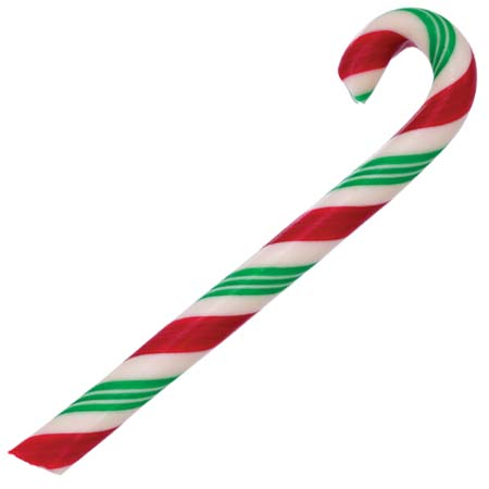 Wintergreen Candy Canes (1 Doz.)
