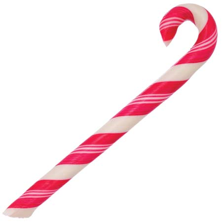 Cherry Candy Canes (1 Doz.)