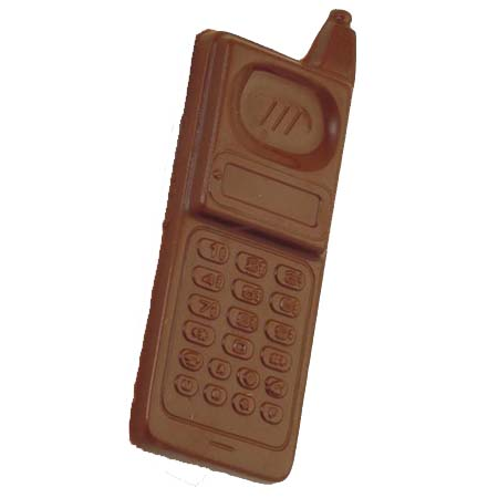 Cell Phone Milk Chocolate 3 oz.