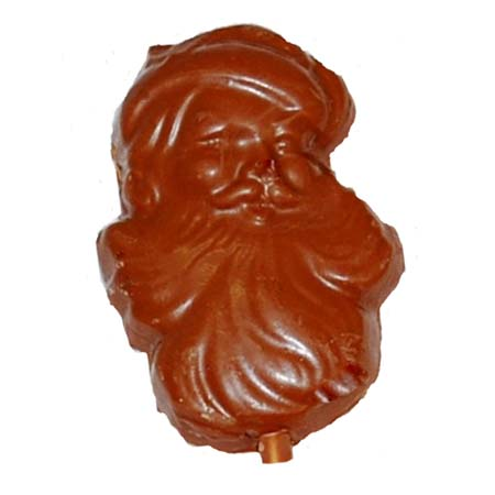 Milk Chocolate Santa Pop