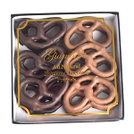 1 lb. Belgian Chocolate Pretzel Gift Box