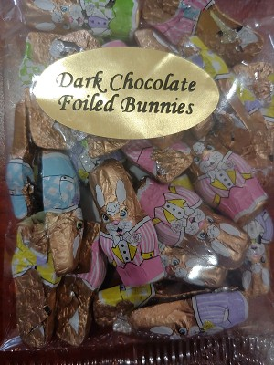 Dark Foiled Bunnies